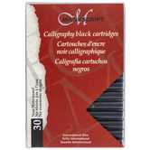 Black Fountain Pen Non-Waterproof Ink Cartridges